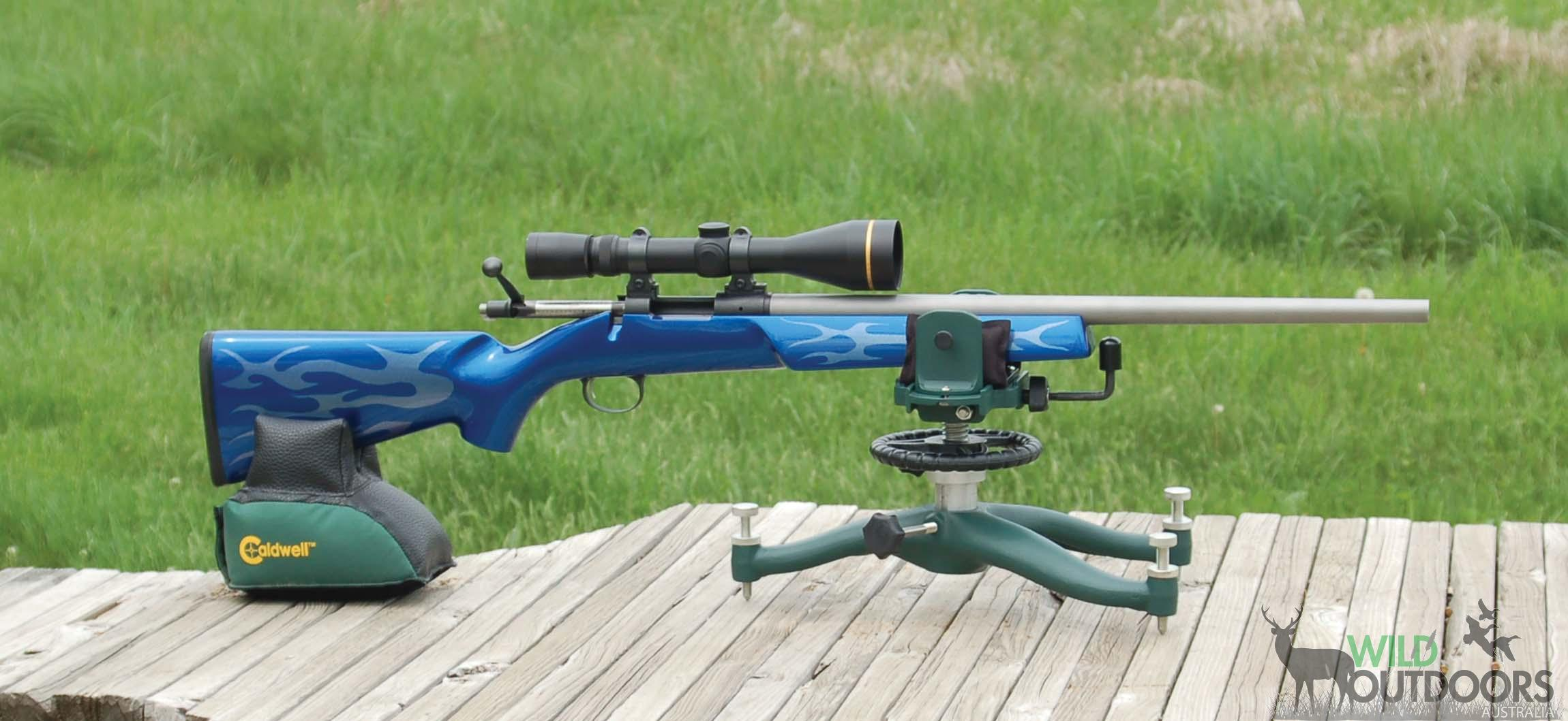 rifle mk raw air potter rapid weapon ii bench firearms benchrest rest target