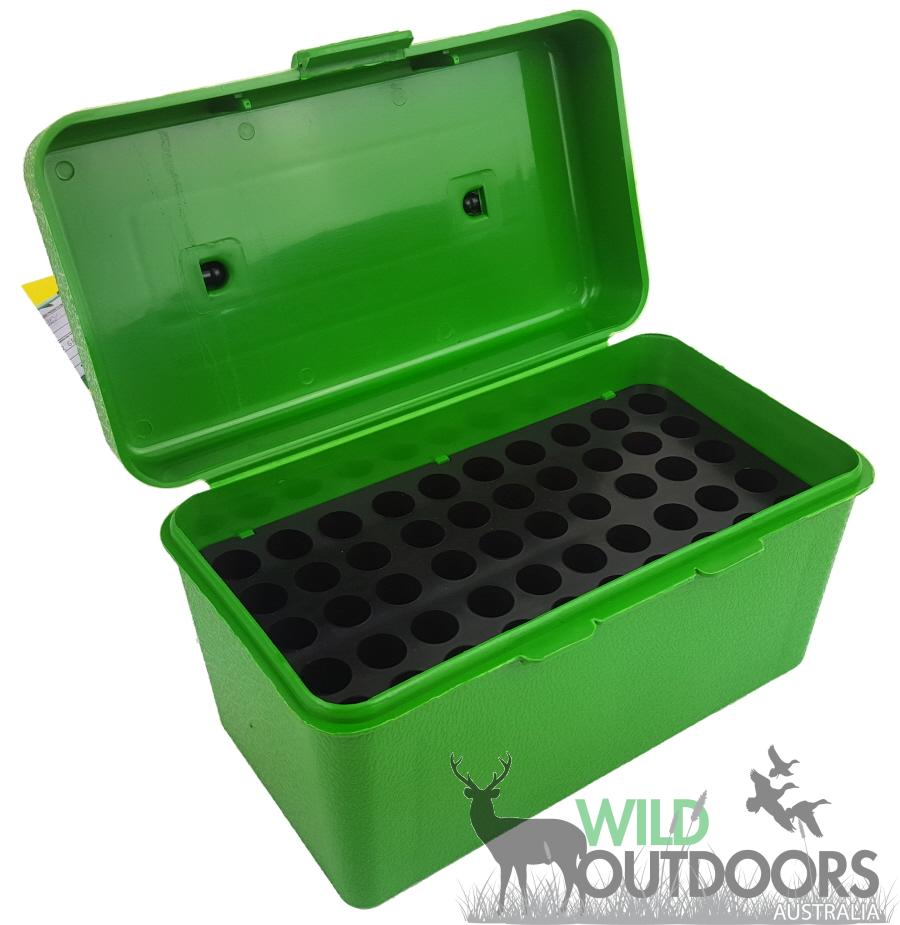 MTM 50 Round Deluxe Rifle Ammo Box H50-R-MAG