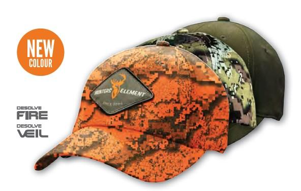 Hunters Element - Legacy Cap Hunting - Camo, Blaze or Green