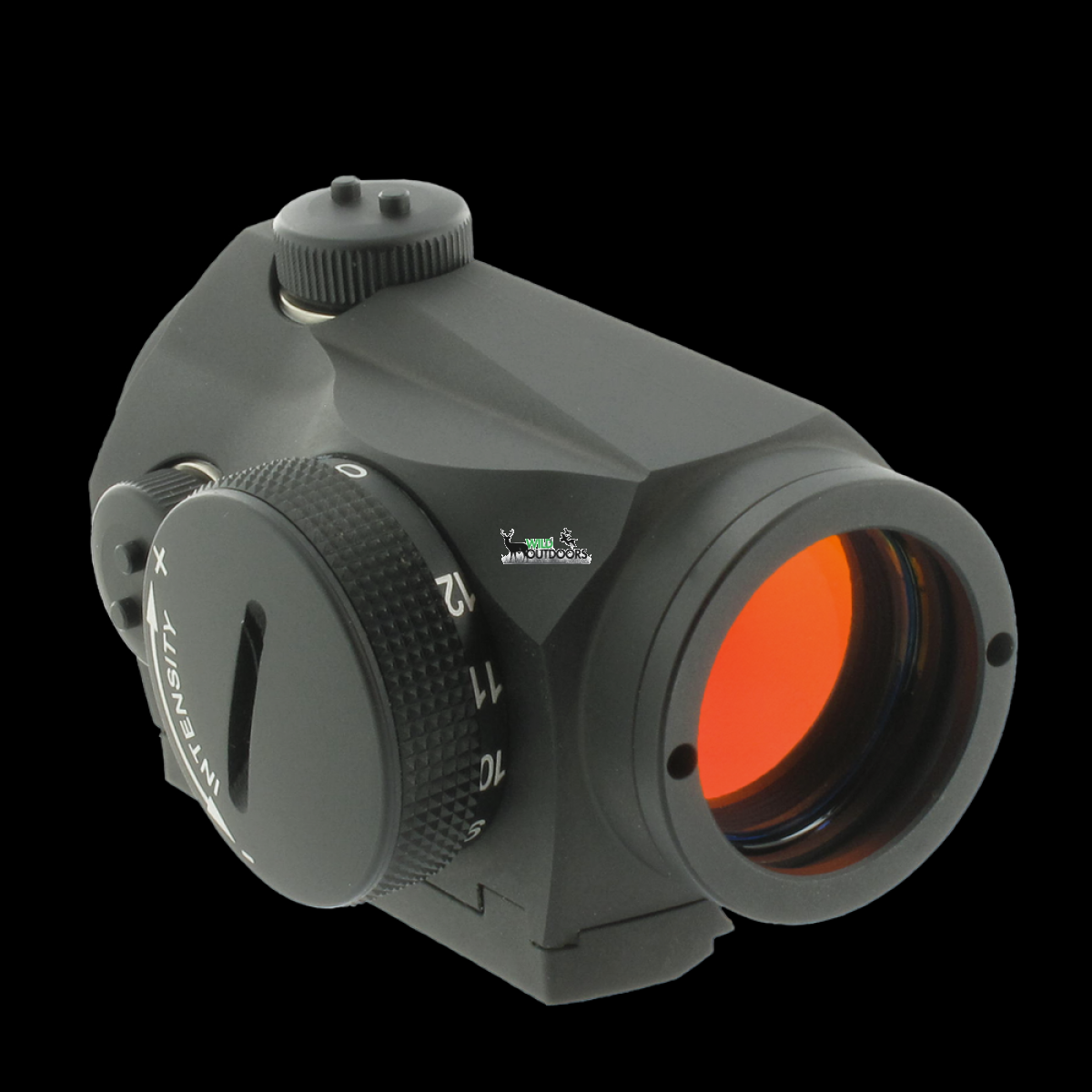 Aimpoint Micro S 1 With Shotgun Rib Mount Red Dot