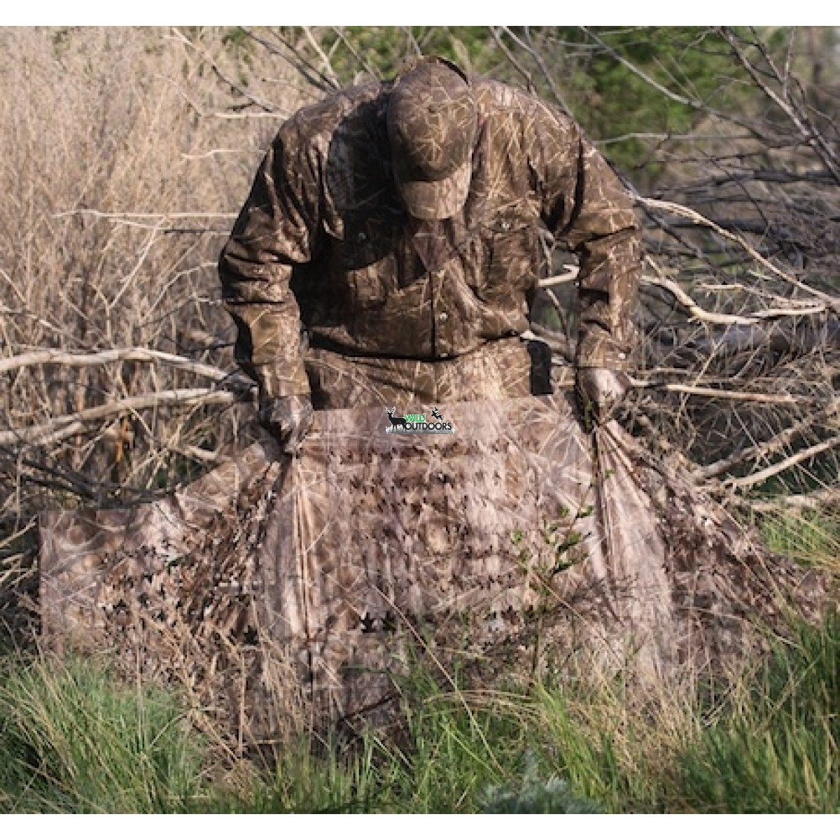 Avery Fast Break Ground Blind Camo Hunting Hide