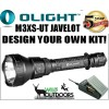 OLight - M3XS-UT JAVELOT Torch - Rechargeable Batteries - Charger - DIY KIT!
